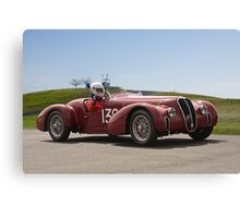 1939 Alfa Romeo 6C 2500 SS Vintage Racecar Canvas Print