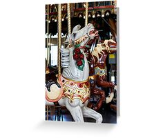 Carouse Horse #4 Greeting Card