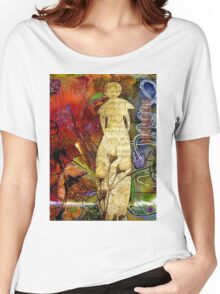 ROSEBUD The Angel of Sweet Songs Women's Relaxed Fit T-Shirt