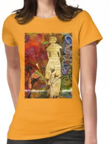 ROSEBUD The Angel of Sweet Songs Womens Fitted T-Shirt