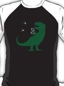 Unstoppable t rex geek funny nerd T-Shirt