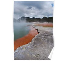 Champagne pool Poster