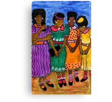 New Sunday Shoes Canvas Print