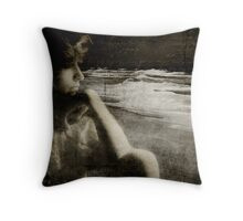 Message in a Bottle...... Throw Pillow