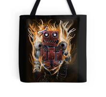 The Lady And the Robot Tote Bag