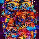 Radiant Owls  by © Cassidy (Karin) Taylor