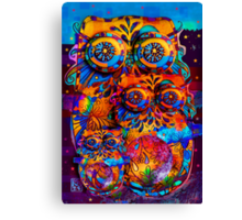 Radiant Owls  Canvas Print