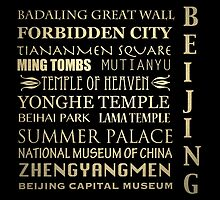 Beijing Famous Landmarks by Patricia Lintner
