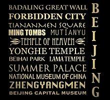 Beijing Famous Landmarks by Patricia Lintner