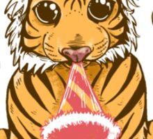 Birthday Tiger Sticker