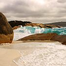 Big Wave at Little Beach by georgieboy98