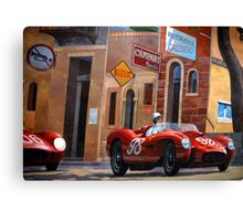 The Great Race Canvas Print