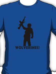 Wolverines geek funny nerd T-Shirt