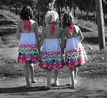 flower girls by Jennifer Hulbert-Hortman