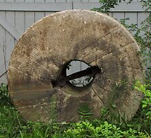 Gristmill Stone by Pamela Phelps