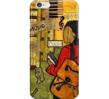 Urban Music Student iPhone Case/Skin