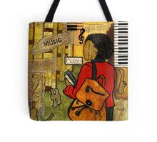 Urban Music Student Tote Bag