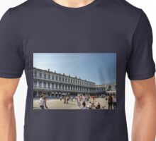 Tourists in Piazza San Marco Unisex T-Shirt