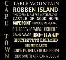 Cape Town Famous Landmarks by Patricia Lintner