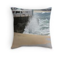 Exploding Whitewater Throw Pillow