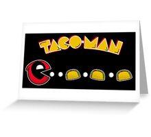 TACO-MAN Greeting Card