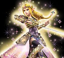 Princess Zelda ~ Razzle Dazzle by bandreaNRG
