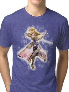 Princess Zelda ~ Razzle Dazzle Tri-blend T-Shirt