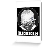 Baby Rebels Bandana Greeting Card