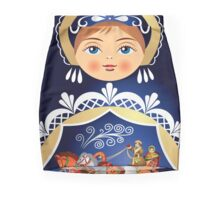 Babushka Matryoshka Russian Doll  Mini Skirt