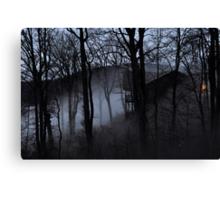Haunted Cabin Canvas Print
