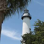 St. Simons Island Lighthouse by Kent Nickell