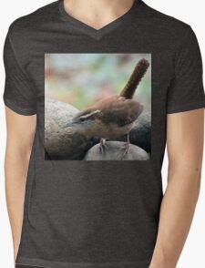 Monocular Vision Mens V-Neck T-Shirt