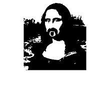 Frank Zappa Mona Lisa Photographic Print