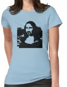 Frank Zappa Mona Lisa Womens Fitted T-Shirt