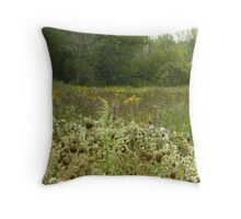 Wildflowers at Mays Lake Throw Pillow