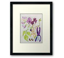 boys as plants (1) Framed Print