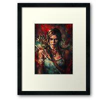 Tomb Raider Reborn Framed Print