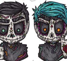 Sugar Skull All Time Low Sticker