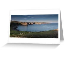 South Gower coastline Greeting Card