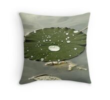 Lilypads - Chicago Botanic Garden Throw Pillow