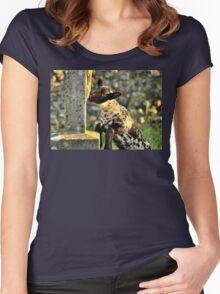 Mmmm! Tasty.. Women's Fitted Scoop T-Shirt