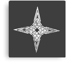 Skyrim Distressed Dawnstar Logo Canvas Print
