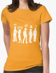 What's our powers? Womens Fitted T-Shirt