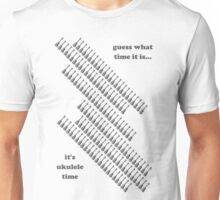 Ukulele Ammo Belt Unisex T-Shirt