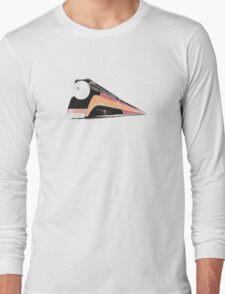 Retro Train Long Sleeve T-Shirt