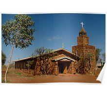 Balgo Hills Stone Church,Tannami Track,WA Poster