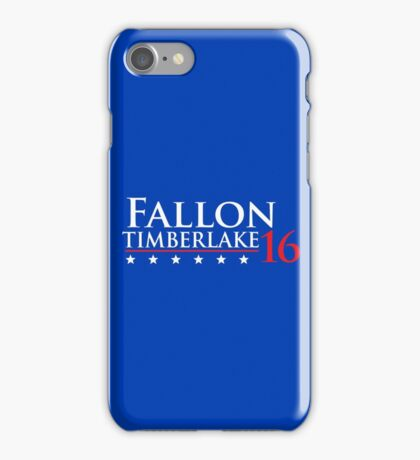 Fallon for President 16 iPhone Case/Skin