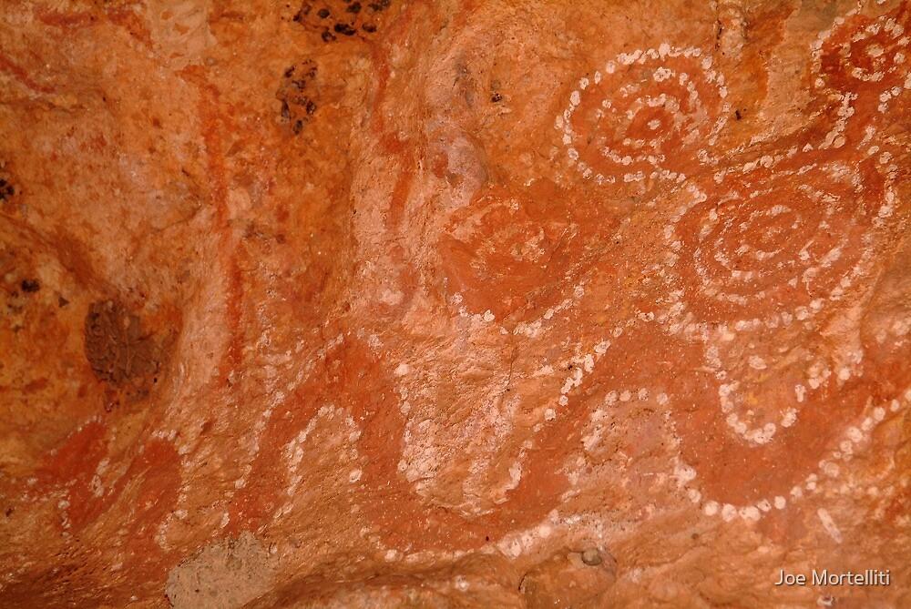 Aboriginal Rock Art,Balgo Hills.WA. by Joe Mortelliti