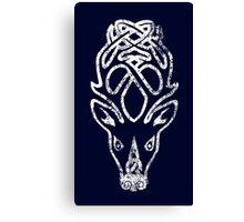 Skyrim Distressed Falkreath Logo Canvas Print