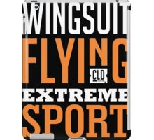 Wingsuit Flying Extreme Sport Graphic Art  iPad Case/Skin